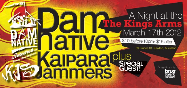 Dam Native and KJs at Kings Arms